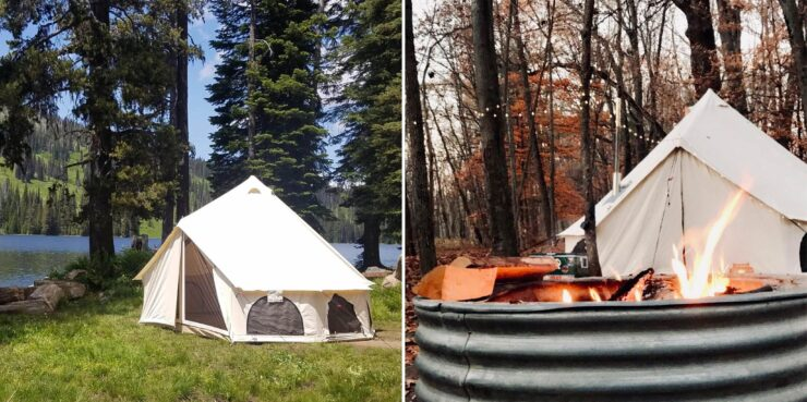 White Duck Avalon Bell Tent Outdoors