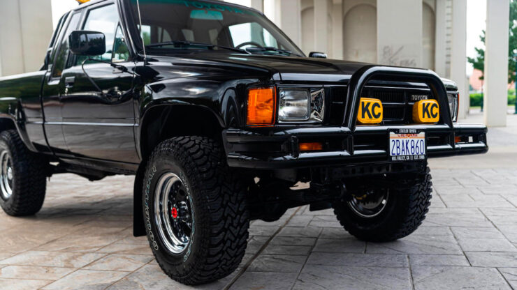 Back To The Future Toyota Truck 12