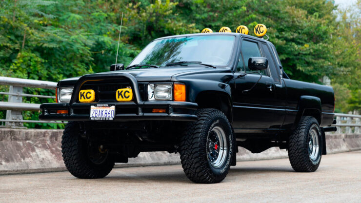 Back To The Future Toyota Truck 13