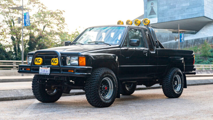 Back To The Future Toyota Truck 14