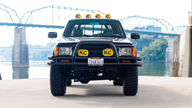 Back To The Future Toyota Truck 2