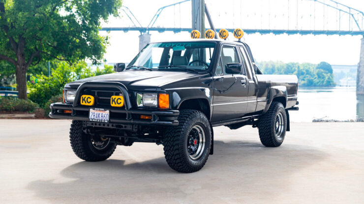 Back To The Future Toyota Truck 7