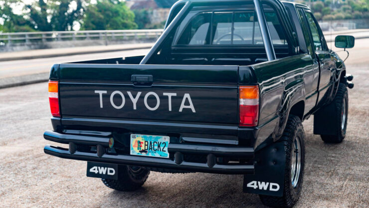 Back To The Future Toyota Truck 8