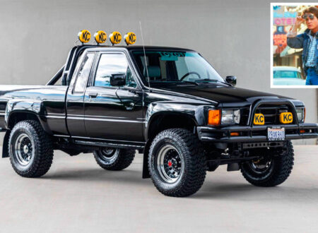 Back To The Future Toyota Truck