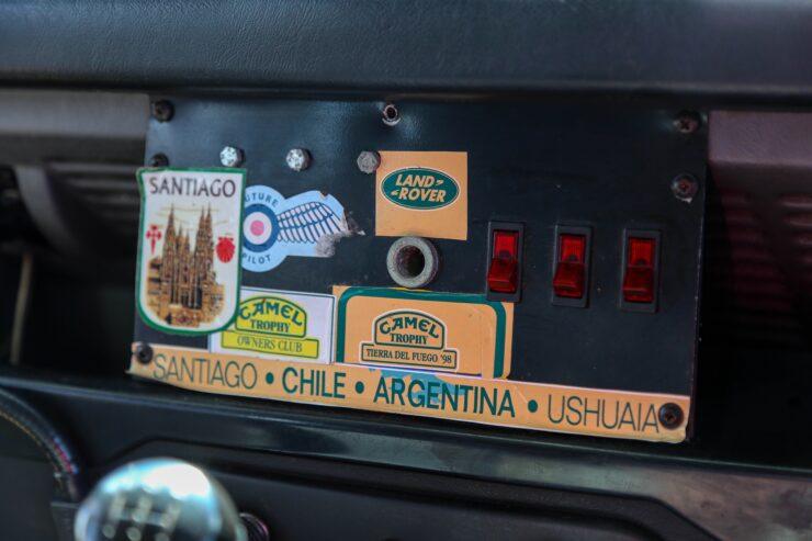 Camel Trophy Land Rover Defender 20