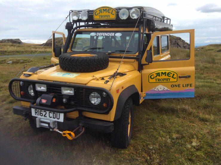 Camel Trophy Land Rover Defender 21