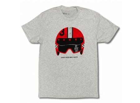 Open Faces Win Races T-Shirt