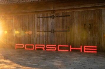 Porsche Dealership Sign
