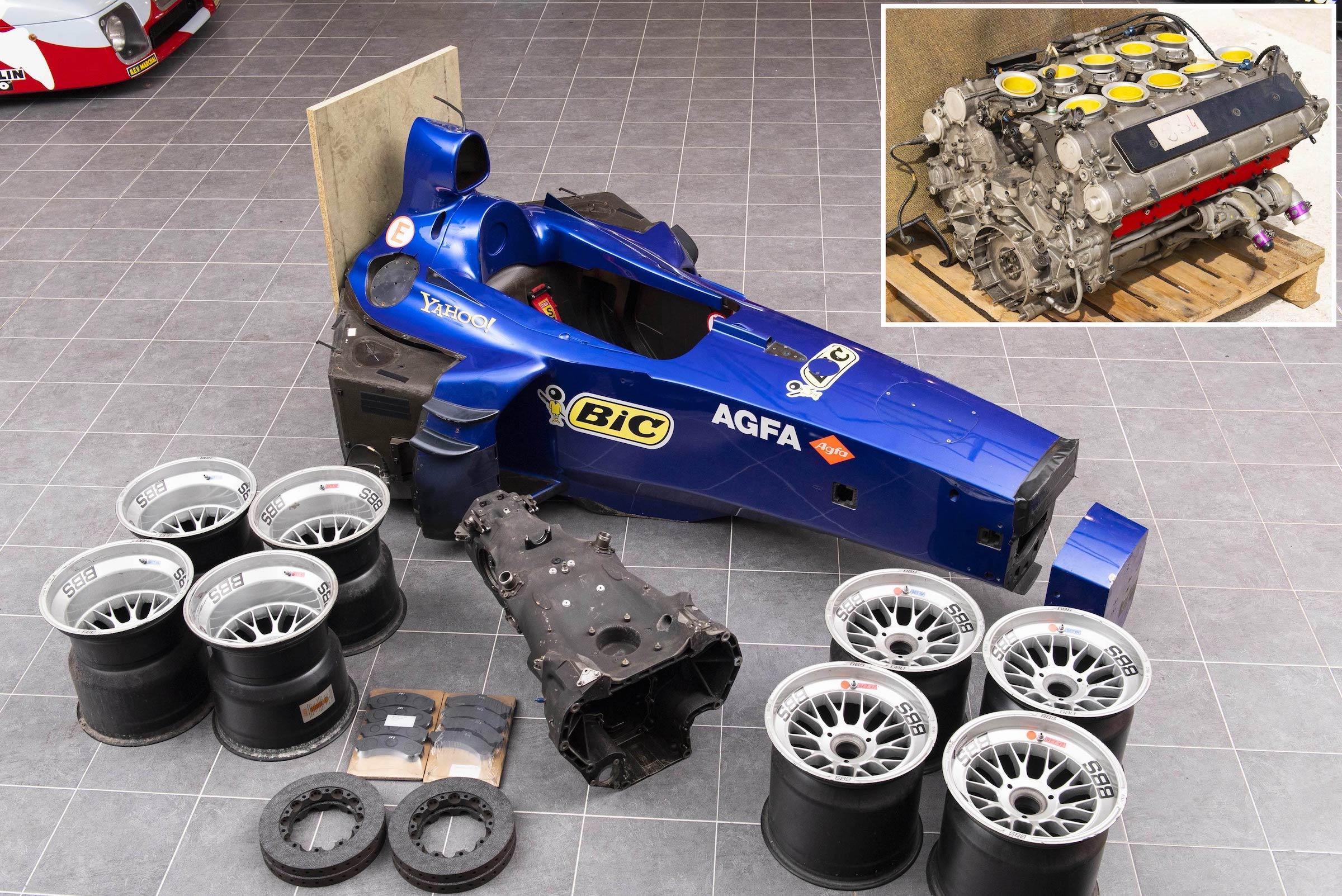 Prost Formula 1 Spare Parts